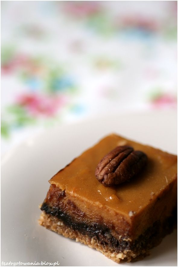bataty, słodkie ziemnikai, czekolada, orzechy pecan