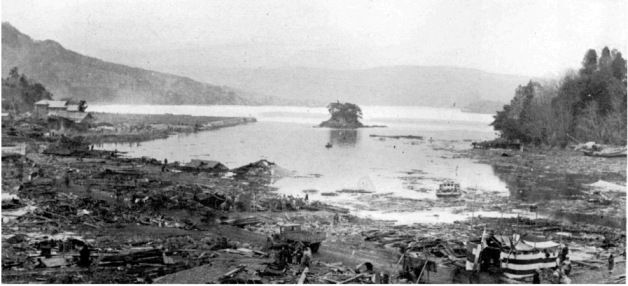 sanriku  japan 1933 march 02