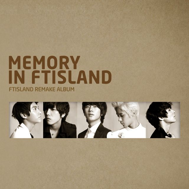 FT ISLAND - MEMORY IN FTISLAND cover